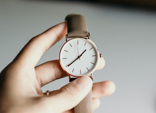 時間の使い方をあらためて考えたい